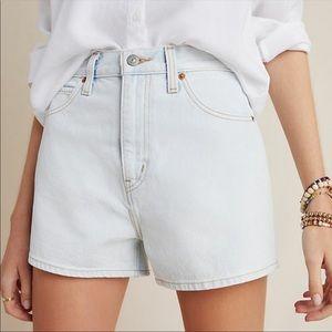 🆕 Levi's Wide Leg High Rise Denim Premium Shorts